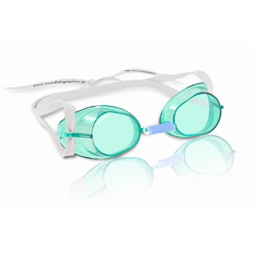 Malmsten Unisex's Swedish Goggles Standard, Green