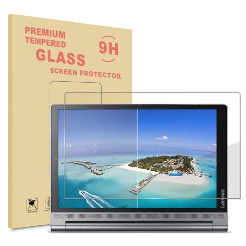 Infiland Lenovo Yoga Tab 3 Plus/Yoga Tab 3 Pro Screen protector,Premium HD clear Tempered Glass Screen Protector for Lenovo Yoga Tab 3 10 Plus/yoga...