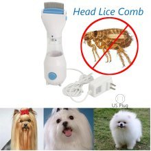 Head Lice Treatment Kills Chemical Free Electric Comb Remove Nits Device for Pet