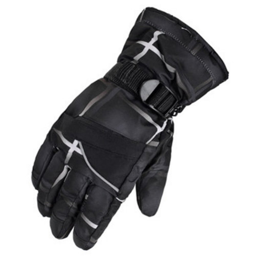 1 Pair Outdoor Winter Cycling Cold-proof Gloves Waterproof Skiing Gloves Warm Gloves,I