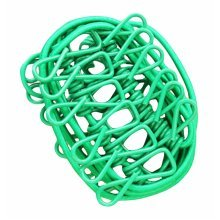 Portable Clothingpin 12 Metal Clips Foldable Stretchable Clothesline-Green