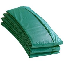 Upper Bounce Unisex Ubpad-S-8-G Super Trampoline Safety Pad, Green, 8 Foot