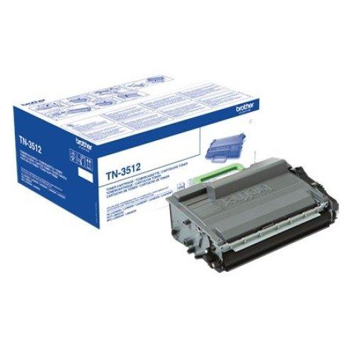 Brother Tn-3512 Cartridge 12000pages Black Laser Toner & Cartridge
