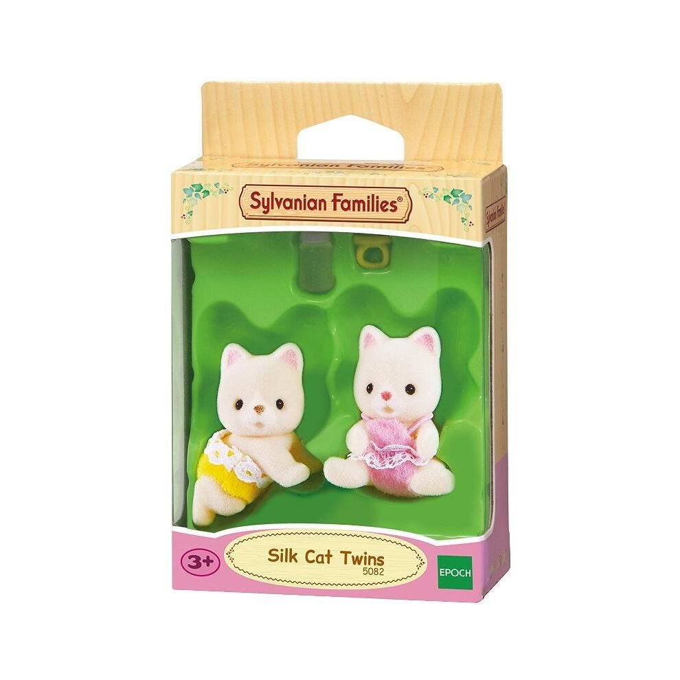 Sylvanian Families SILK CAT TWINS 5082 Epoch Calico Critters
