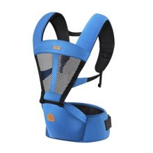 Baby Carrier Waist Stool Seat Carrier,oxford fabric Baby Carrier Blue