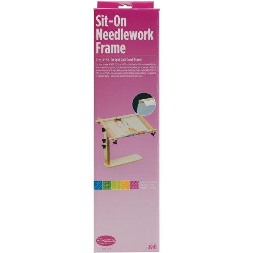 Frank A. Edmunds Sit-On Needlework Frame-