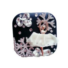 [BLACK] Special Dancer DIY Contact Lenses Box Case/Holders Storage Container