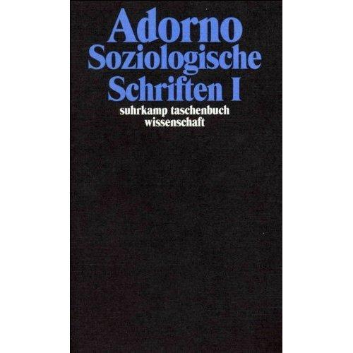 Soziologische Schriften 1.