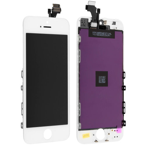 LCD replacement part with touchscreen for Apple iPhone 5 – White