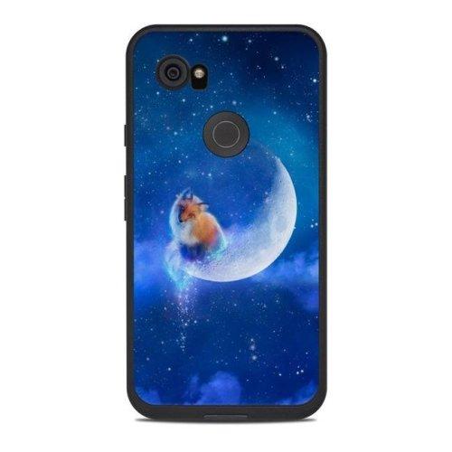 DecalGirl LFP2X-MOONFOX Lifeproof Google Pixel 2 XL Fre Case Skin - Moon Fox