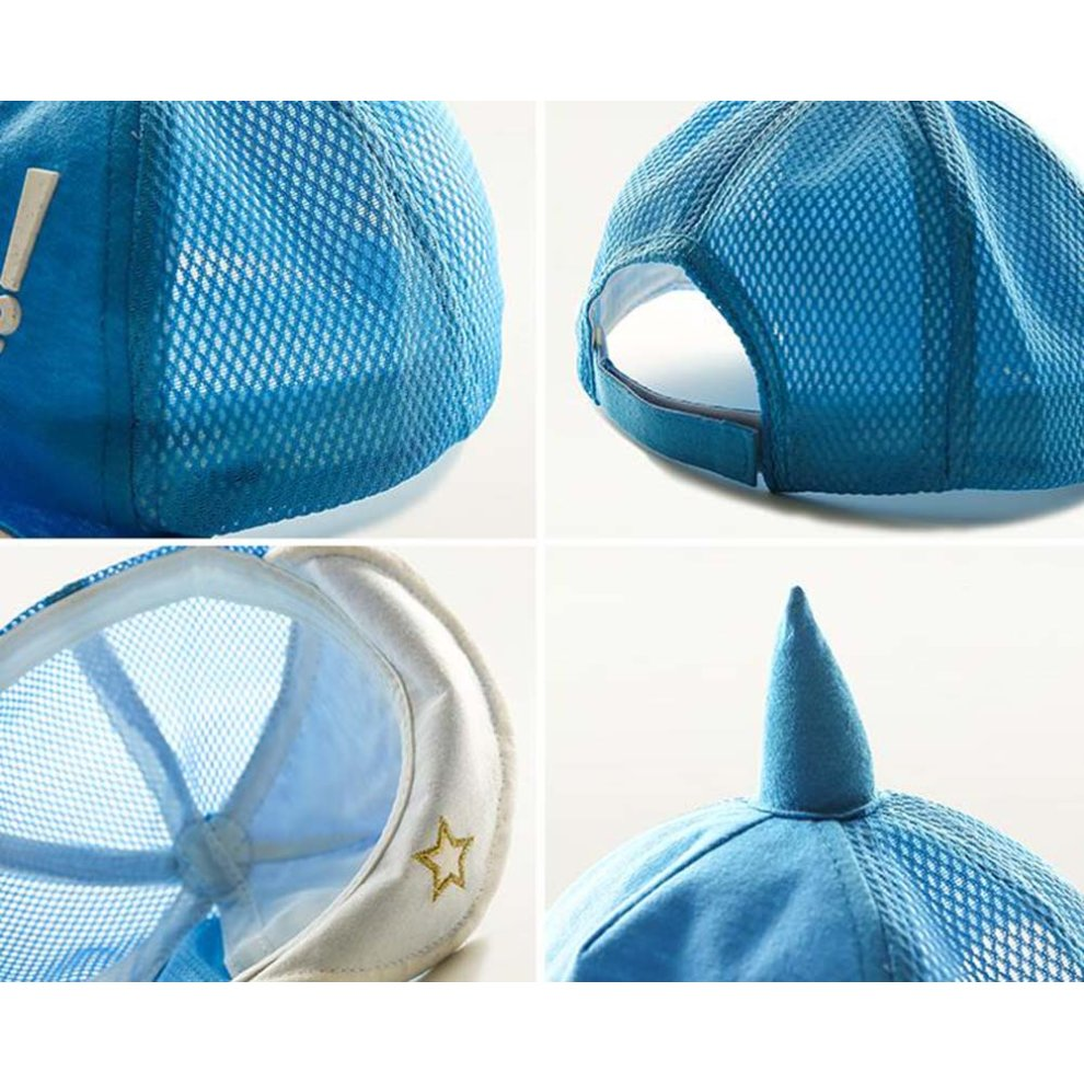 ... Great Gift for Baby Fashion Sunhat Cotton Hat Foldable Beach Hat Summer  Hat Blue - 1.   a7a4784d2371