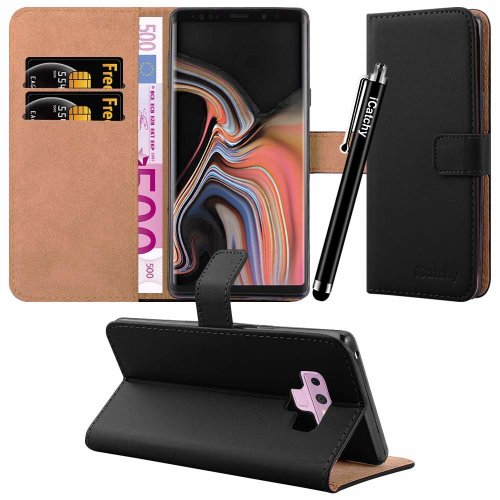 For Galaxy Note 9 Leather Wallet Flip Case Cover