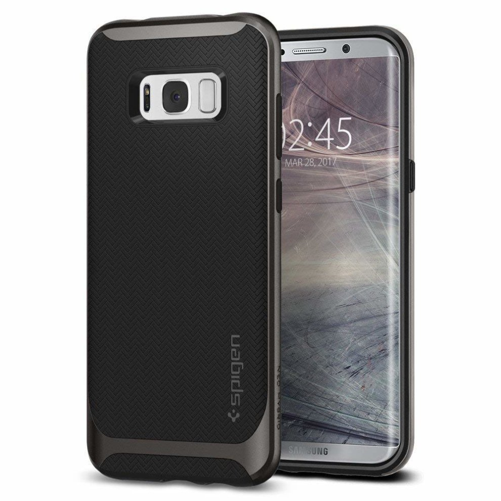 biggest discount 9321f 3f0de Samsung Galaxy S8 Case, Spigen® [Neo Hybrid] [Sturdy Protection] Galaxy S8  Case Cover with Flexible Inner Protection and Reinforced Hard Bumper...