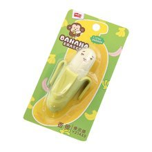 Banana Shape Erasers, Perfect Classroom Prizes for Children 4Pcs