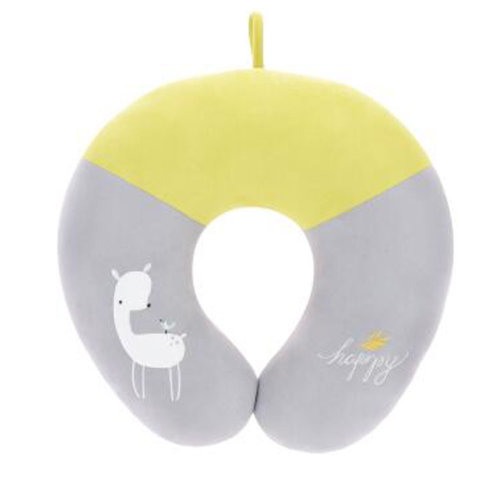 Cute Comfortable Neck Pillow Neck Support U-Shape Pillows for Home/Office/Travel, K