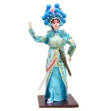 Traditional Chinese Doll Peking Opera Performer - Xiao Qing