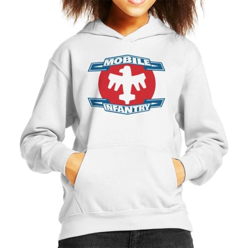 Mobile Infantry Logo Starship Troopers Kid's Hooded Sweatshirt