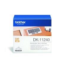 Brother DK-11240 White DK printer label