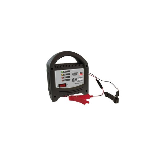 Battery Charger - 4A - 12V - LED Automatic