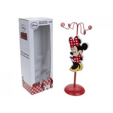 Red Disney Minnie Mouse Wooden Jewellery Rack - Kids Storage Holder Display Tree -  minnie mouse wooden red rack kids jewellery storage holder