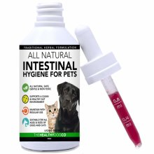 All Natural Worming Treatment for Dogs and Cats | Easier Than Tablets | 1-2 Year Supply | The Healthiest Wormer for Stopping Worms