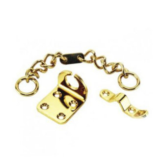 UAP Ltd High Security Door Chain - Polished Brass