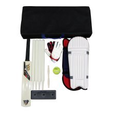 Cricket Set 1X-Treme -1 Bat Tennis Ball Bail set Legguards Stumps Bag