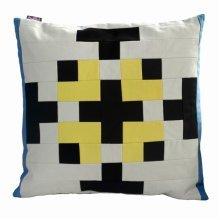 Decorative Canvas Square Throw Pillow Cover Handmade Cushion Case