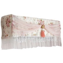 Air Conditioner Dustproof Cover Air Conditioner Anti Dust Lace Cover
