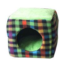 Four Seasons Universal Small-scale Pet House Cat Cave Cat Mat [Green] [E]