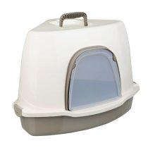 TRIXIE Corner Cat Litter Box Alvaro 55x42x42 cm Cream 40357