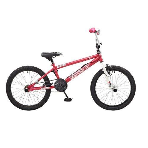 "Rooster Radical Girls 20"" Wheel Freestyle BMX Bike Bicycle Pink Gyro RS117"