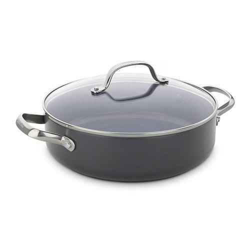 26cm Shallow Casserole with Lid 3.6L