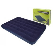 Double Soft Flocked Airbed - x Summit 22cm Luxury -  double airbed x summit flocked 22cm soft luxury