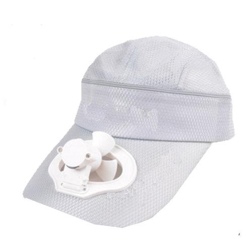 Summer Fan Hat with Fan Fishing Sun Visor Cap#A