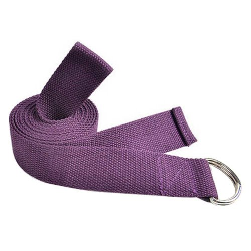 Durable Stretching Band Yoga Strap Exercise Band Fitness Equipment,PURPLE