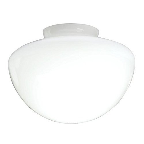 Westinghouse Lighting Opal Frosted Mushroom Shade, 17.8 cm - White