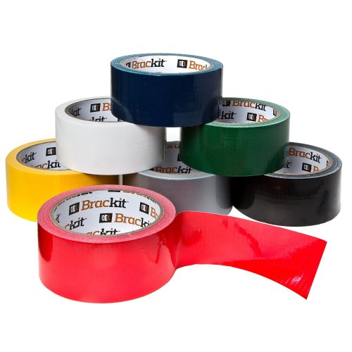 Brackit 15m X 48mm Colored Duct Tape Variety Pack Set Of