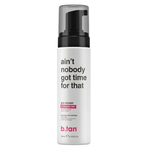 B.Tan ain't nobody got time for that! - Pre Shower Mousse 9 Minute Tan