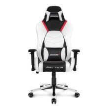 AKRacing Masters Series Premium Gaming Chair, Arctica, 5/10 Year Warranty