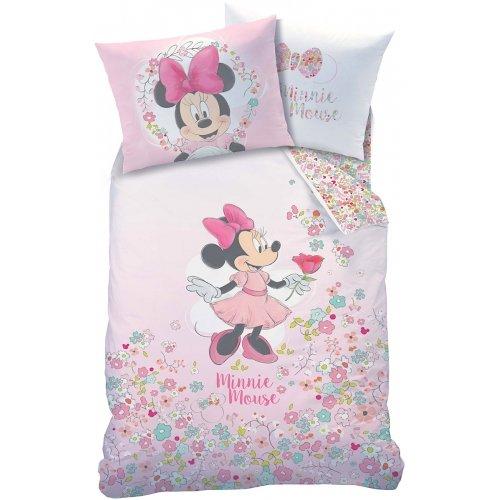 Disney Minnie Mouse Bloom Reversible Duvet Cover Set Single