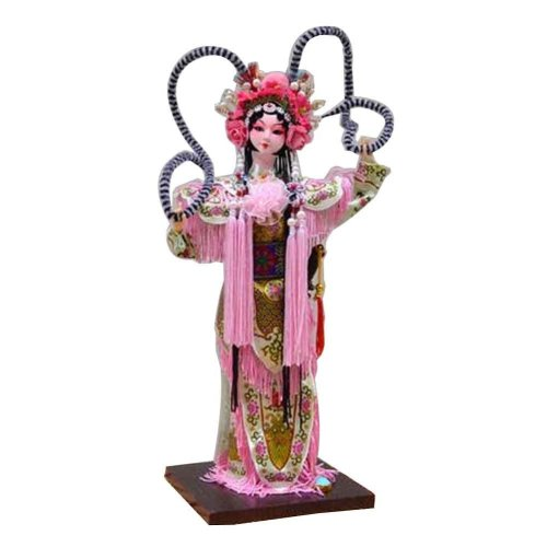 Traditional Chinese Doll Peking Opera Performer - Hu San Niang