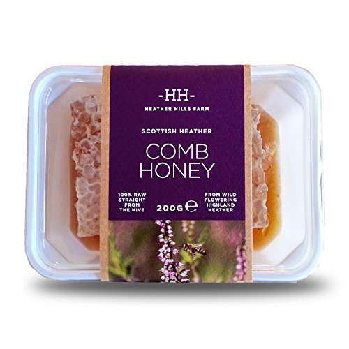 Scottish Heather Honey Comb 200g