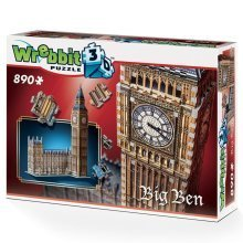 Wrebbit Big Ben & Parliament 3d Jigsaw Puzzle (890 Pieces)