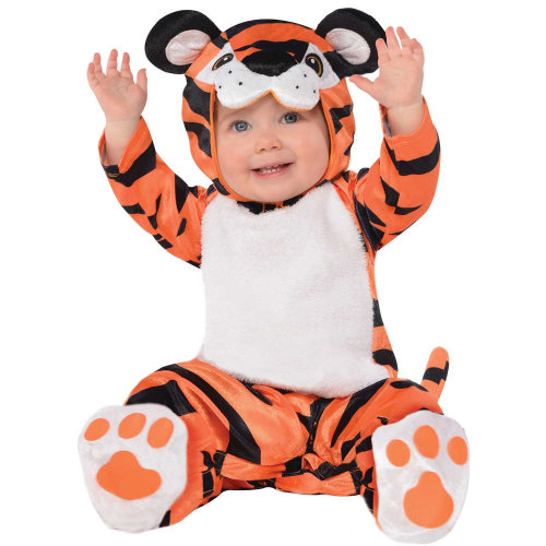 Kids Baby Toddler Tiny Tiger Costume