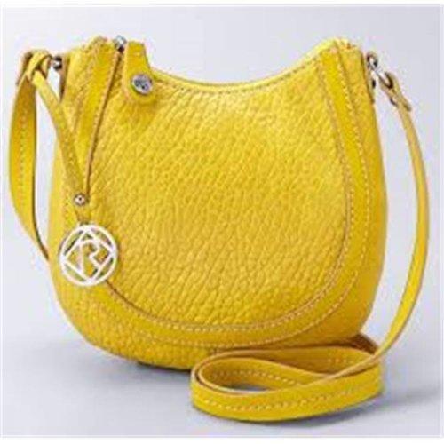 Art Fashions of Europe BN2274 YLW 13 x 5 x 10 in. Ronea UCCI Luxury Handbags, Yellow