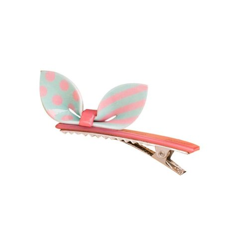 Set of 2 Rabbit Ear Hair Pin Fashion Hair Clip/Hairpin,Blue/Pink