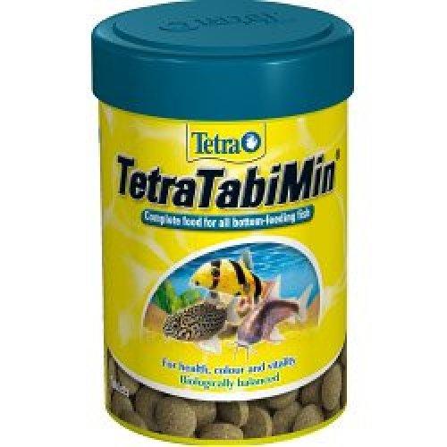Tetra Tablet Food For Bottom Feeding Fish -  tabimin 120 tablets fish food