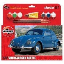 Air55207 - Airfix Medium Starter Set - 1:32 - Vw Beetle