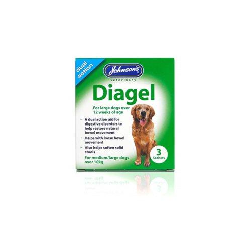 Jvp Diagel Large Dog Over 10kg 3 Sachets (Pack of 6)